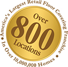 America's largest retail floor covering franchise | Over 800 locations
